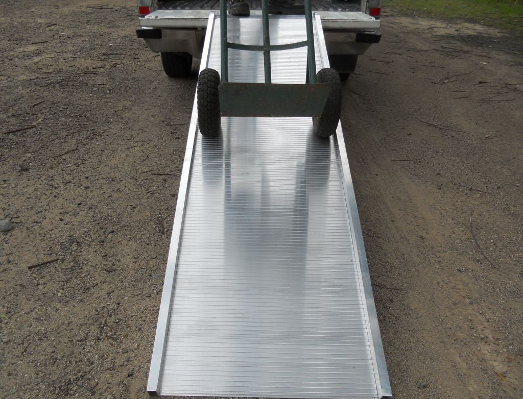 Whipps non-folding removalist ramp with trolley