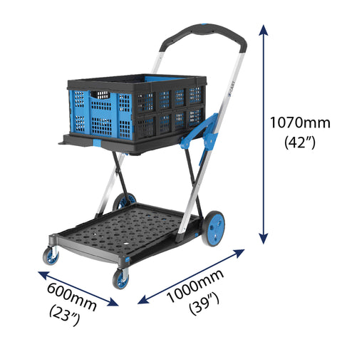 Troden X-Cart Hand Trolley Dimensions - RampChamp