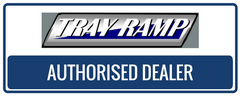 Tray Ramp authorised retailer badge