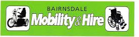 Bairnsdale Mobility & Hire Logo