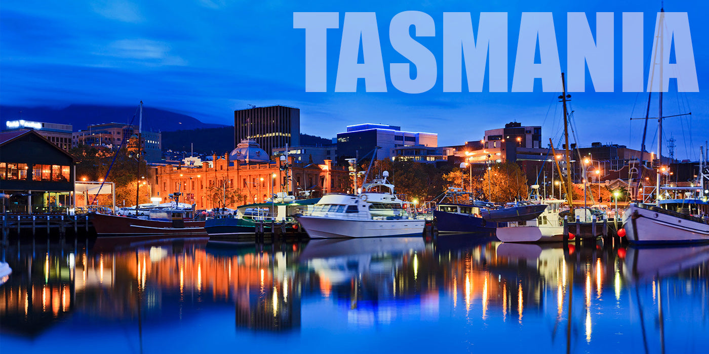 Picture of Hobart, Tasmania's harbour