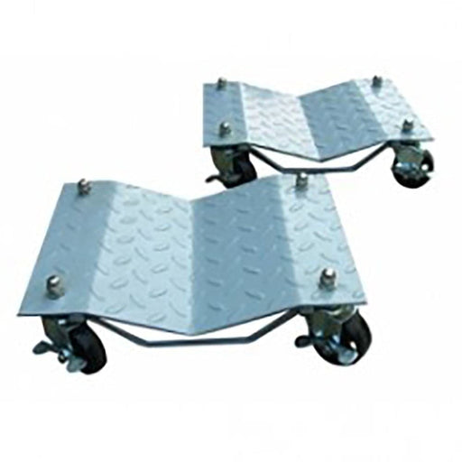 TradeQuip 1,360kg Heavy Duty Steel Wheel Dollies, Pair - TradeQuip - Ramp Champ