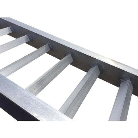 AusRamp 2-Tonne 1.7m x 430mm Aluminium Machinery Loading Ramps for Trailers, Pair - AusRamp - Ramp Champ