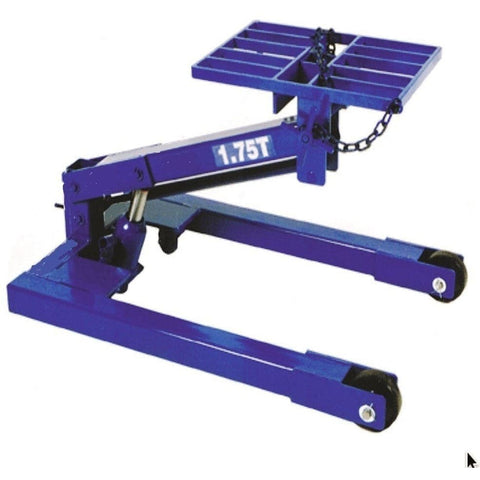 TradeQuip Transmission Lifter Hydraulic, 1,750kg - TradeQuip - Ramp Champ
