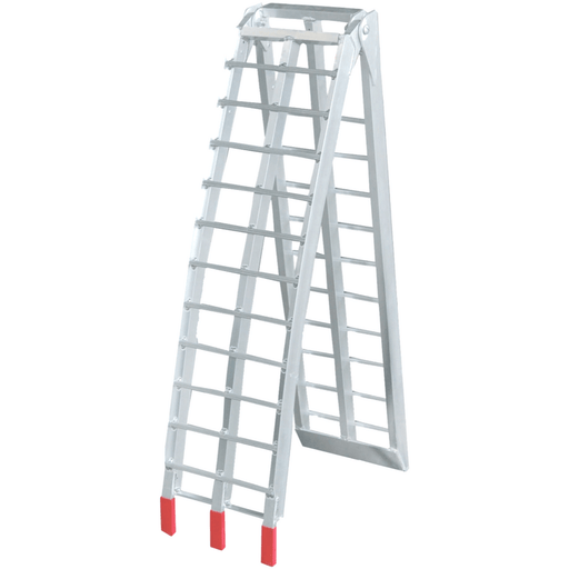 Oz 2.3m x 340kg Aluminium Foldable Loading Ramp, Single - Oz Loading Ramps - Ramp Champ