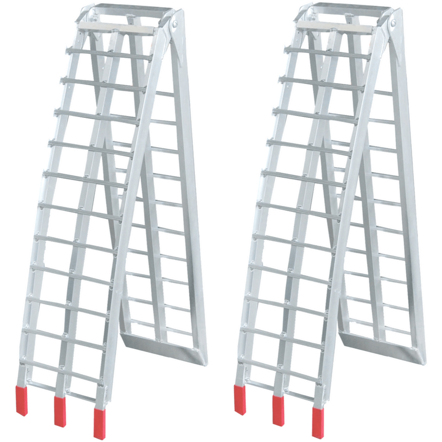 2.3m x 680kg Aluminium Foldable Loading Ramps - Oz Loading Ramps - Ramp Champ