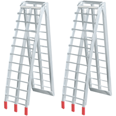 2.3m x 680kg Aluminium Foldable Loading Ramps, Pair - Oz Loading Ramps - Ramp Champ
