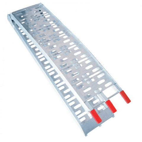 2.3m x 500kg Aluminium Foldable Loading Ramp, Single - Oz Loading Ramps - Ramp Champ