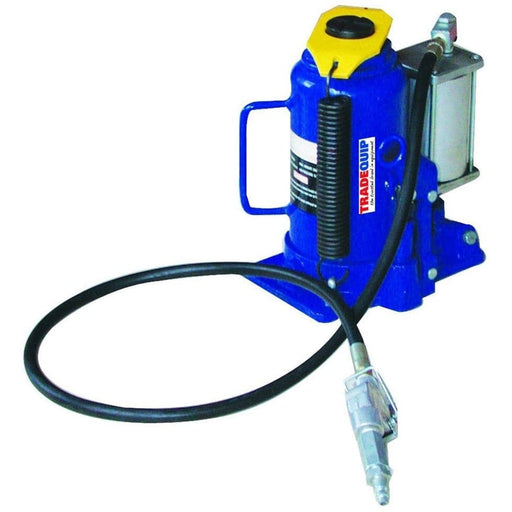 TradeQuip Bottle Jack Air Hydraulic, 20 Tonne - TradeQuip - Ramp Champ