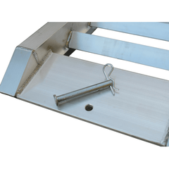 5 Tonne 1.6m x 450mm Aluminium Machinery Loading Ramps For Trailers, Pair