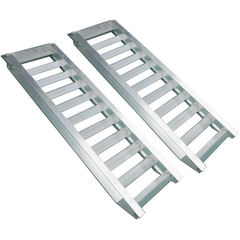 5 Tonne 1.6m x 450mm Aluminium Machinery Loading Ramps, Pair - Oz Loading Ramps - Ramp Champ