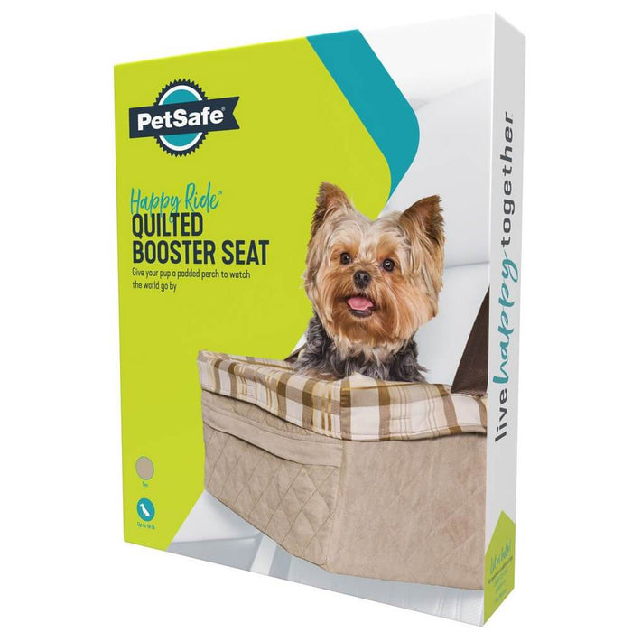 Solvit Pet Products PetSafe Happy Ride™ Quilted Dog Booster Seat, 8kgs