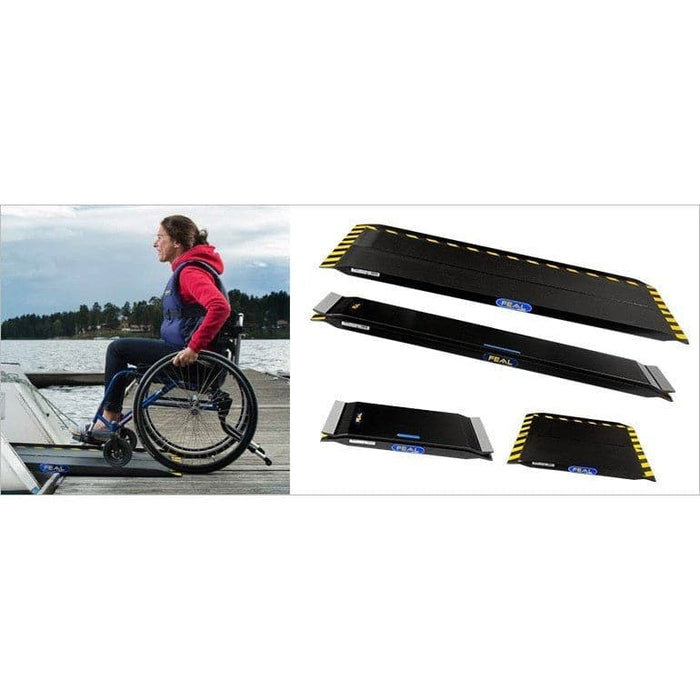 FEAL iRamp Carbon Fibre 1.2m Lightweight Folding Wheelchair Ramp - Feal - Ramp Champ