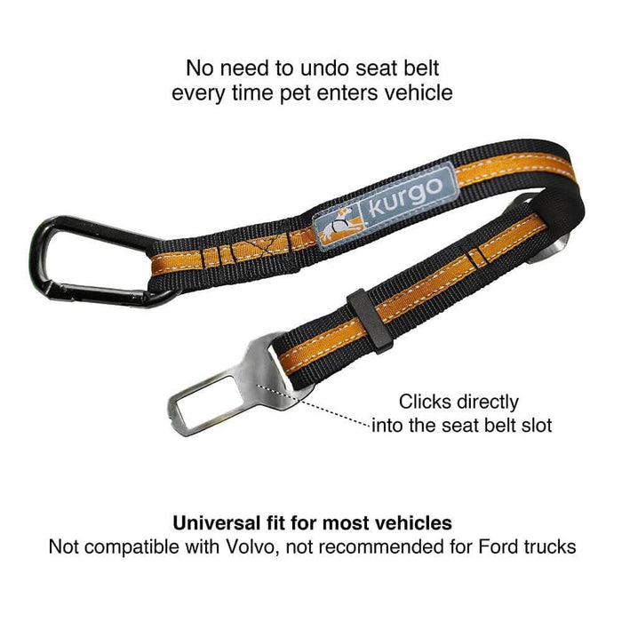 Kurgo® Direct to Seatbelt Tether for Dogs - Kurgo - Ramp Champ