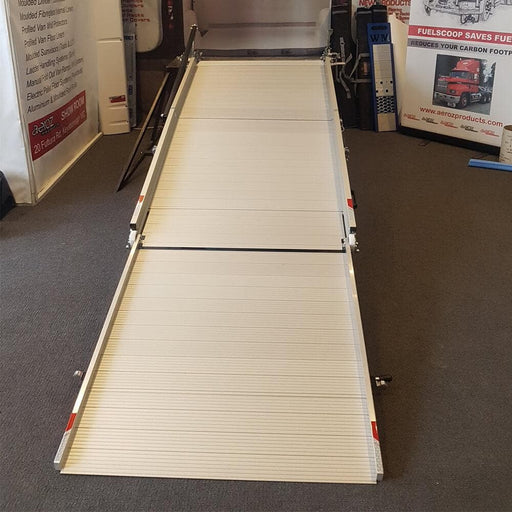 WM System Aluminium AL-Van Ramp with Swivel, 400kg capacity 3rd-Pc Ext - WM System - Ramp Champ