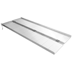 Image of Aluminium Folding Wheelchair Ramp 1.83m Long, 270kg Capacity