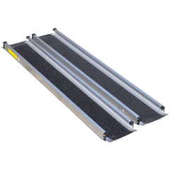 Image of Aidapt 1,220mm Aluminium Telescopic Wheelchair Ramps, Pair