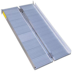Image of Aidapt 910mm Lightweight Aluminium Wheelchair Suitcase Ramp, 272kg Capacity