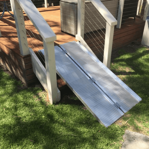 Aluminium Folding Wheelchair Ramp 1.5m, 270kg Capacity