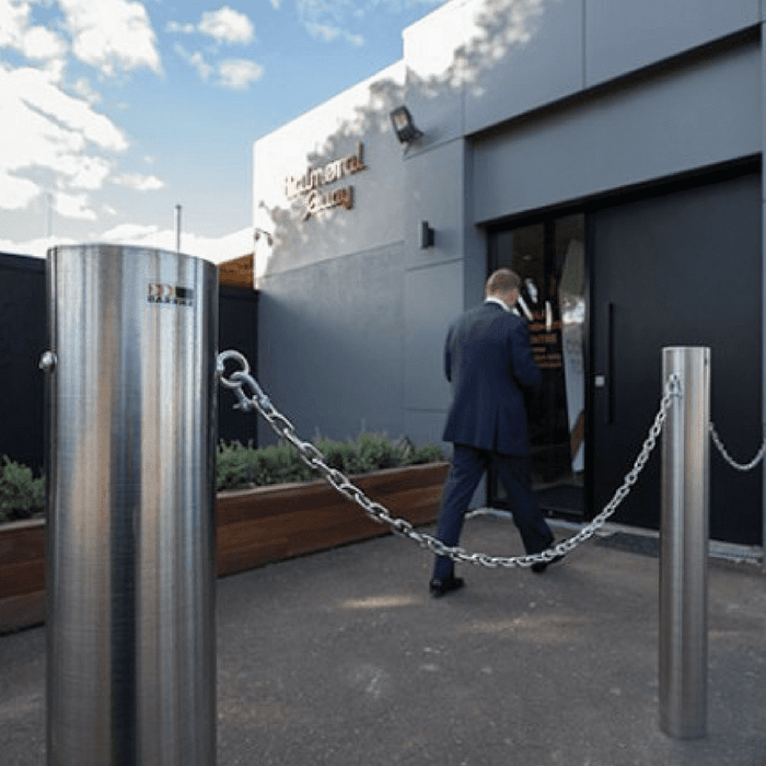 Chain Ring Kit for Architectural Designer Bollard - Stainless Steel - Barrier Group - Ramp Champ