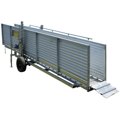 Atlex 6m Heavy Duty Height Adjustable Mobile Sheep Loading Ramp - Atlex - Ramp Champ