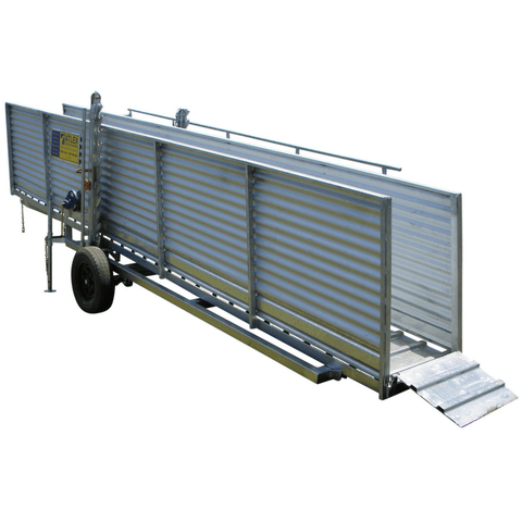 Atlex 3.6m Height Adjustable Mobile Sheep Loading Ramp - Atlex - Ramp Champ