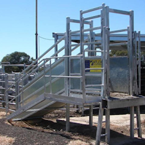 Atlex Heavy Duty Permanent Cattle Loading Ramp (Flat Pack) - Atlex - Ramp Champ