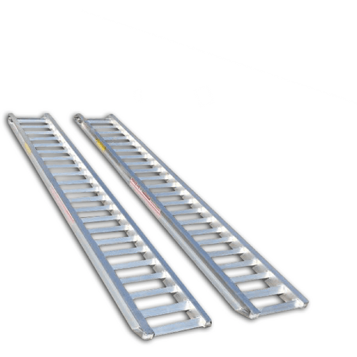 AusRamp 2-Tonne 1.7m x 430mm Aluminium Loading Ramps for Trailers - AusRamp - Ramp Champ