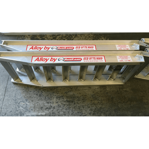 AusRamp 5-Tonne 1.6m x 550mm Aluminium Loading Ramps for Trailers