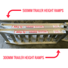 Image of AusRamp 5-Tonne 1.6m x 550mm Aluminium Machinery Loading Ramps for Trailers, Pair