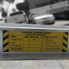 Image of AusRamp 5 Tonne 3.5m x 550mm Aluminium Machinery Loading Ramps, Pair - AusRamp - Ramp Champ