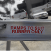 Image of AusRamp 2-Tonne 1.7m x 430mm Aluminium Machinery Loading Ramps for Trailers, Pair - AusRamp - Ramp Champ