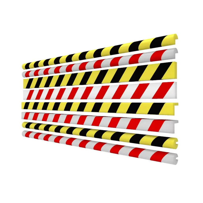Barrier Group Anti Collision Strip 1m Red/White - Barrier Group - Ramp Champ