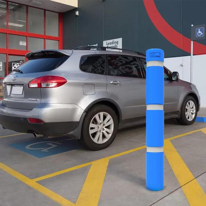 Barrier Group Bollard 140mm Below Ground w/ Sleeve - Disability Blue - Barrier Group - Ramp Champ