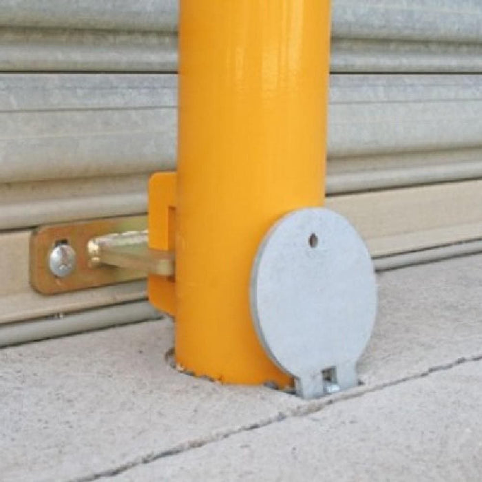 Barrier Group Cam-lok Removable Economy Lock Bollard 90mm Rollerdoor - Barrier Group - Ramp Champ
