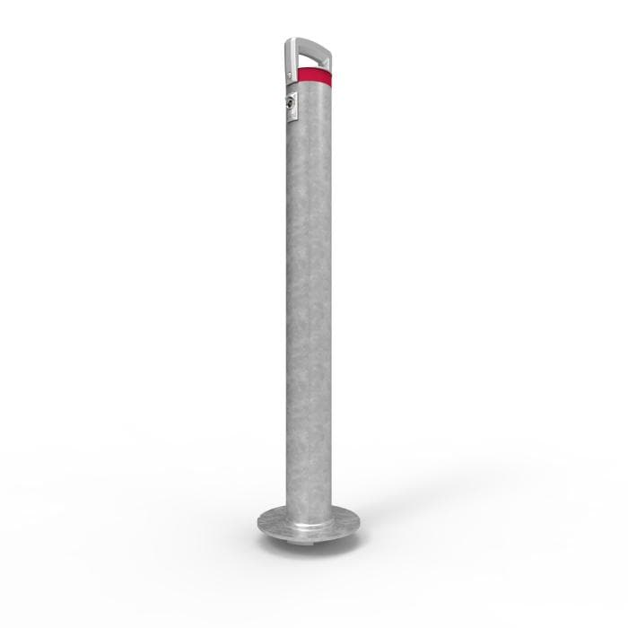 Barrier Group Cam-lok Surface Mount Removable Lock Bollard 90mm - Barrier Group - Ramp Champ