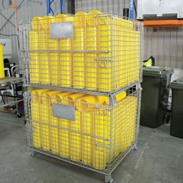 Barrier Group Collapsible Mesh Storage Cage - Barrier Group - Ramp Champ