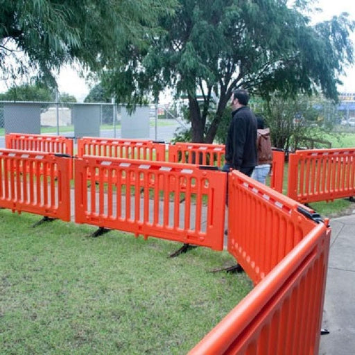 Barrier Group Crowd-Q Modular Pedestrian Separation Fence - Barrier Group - Ramp Champ