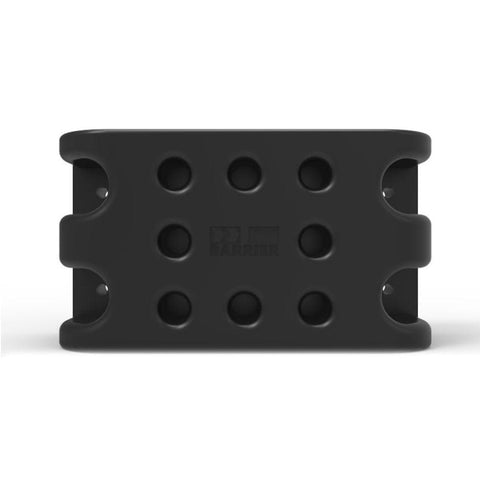 Barrier Group Dock-Safe-Q Panel Receiver - Moulded Rubber Black
