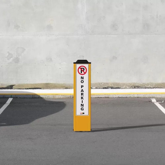 Barrier Group Fold Down Parking Space Protector - No Parking - Barrier Group - Ramp Champ