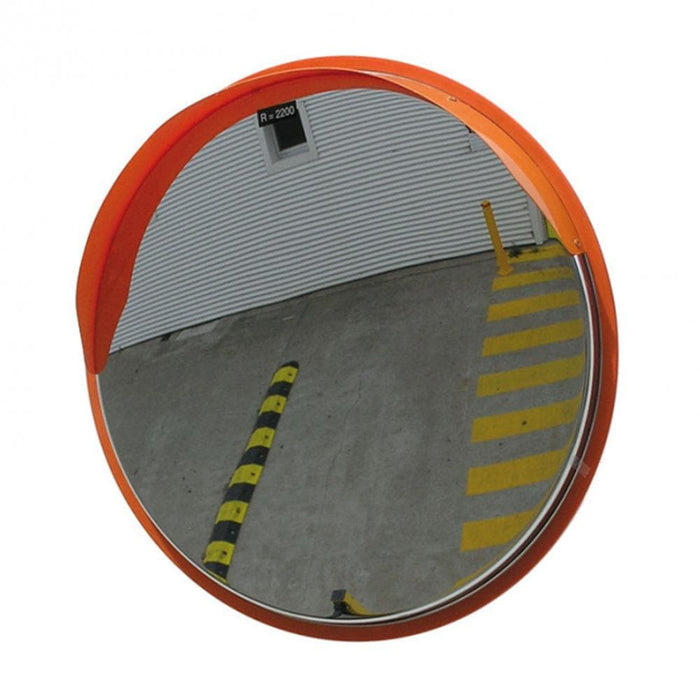 Barrier Group High-Vis Stainless Steel Convex Mirror - Round - Barrier Group - Ramp Champ