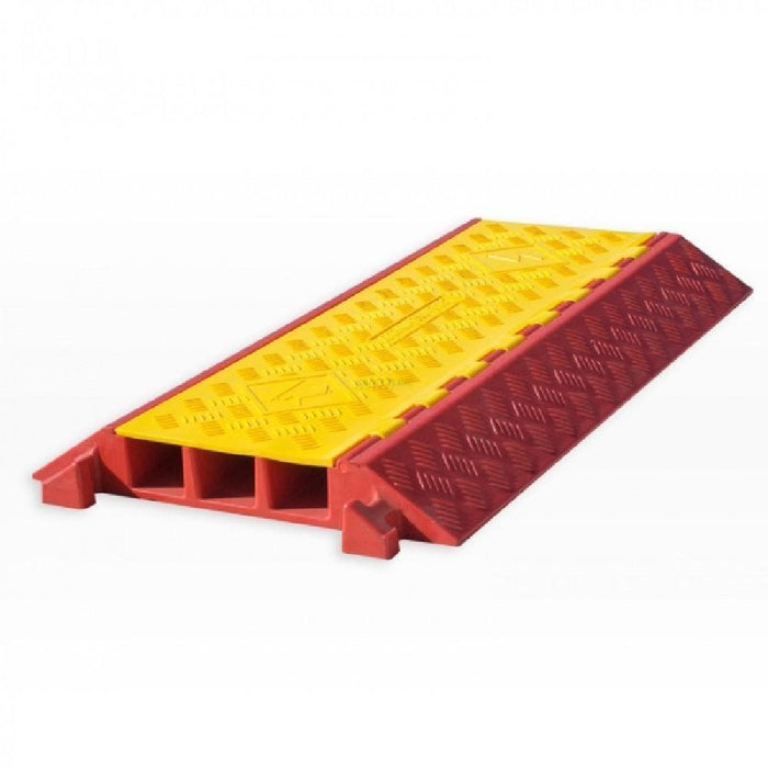 Barrier Group Hinged Lid Polyurethane Cable Protector - 3 Channel - Barrier Group - Ramp Champ