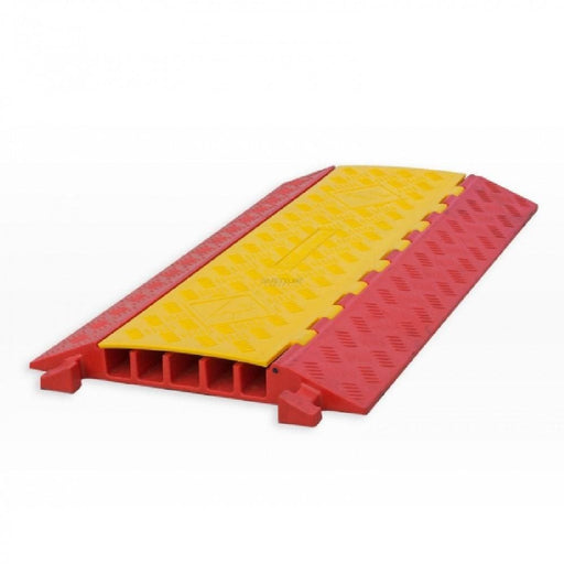 Barrier Group Hinged Lid Polyurethane Cable Protector - 5 Channel - Barrier Group - Ramp Champ
