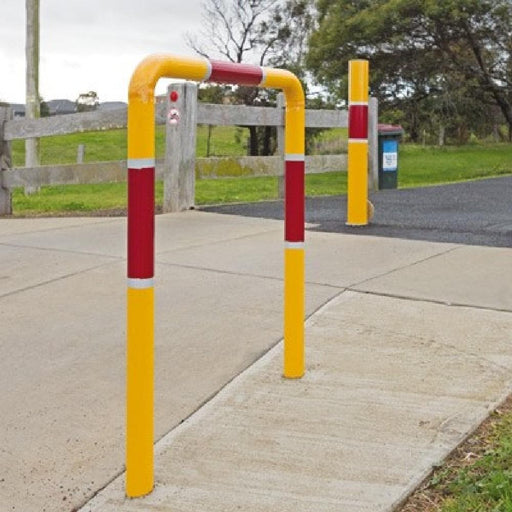 Barrier Group Holding Rail for Cyclist & Pedestrians - Barrier Group - Ramp Champ