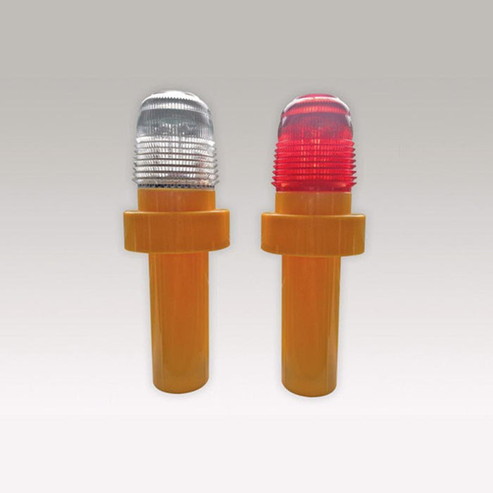 Barrier Group LED Traffic Cone Light - Red & White - Barrier Group - Ramp Champ