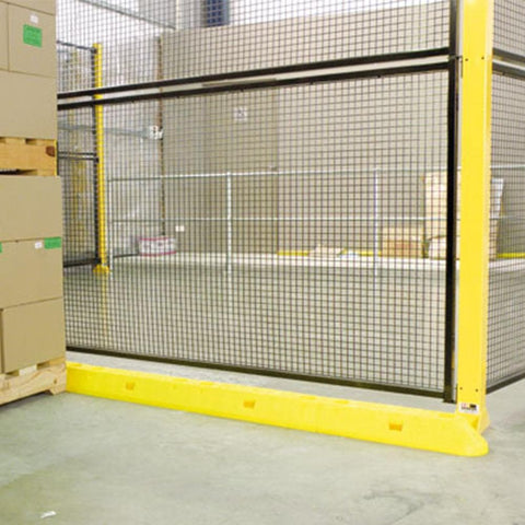 Barrier Group Menni Modular Asset Protector - Yellow High-Vis - Barrier Group - Ramp Champ