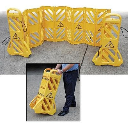 Barrier Group Mobile Expanding Safety Barrier - Barrier Group - Ramp Champ