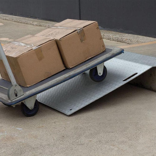 Barrier Group Portable Aluminium Trolley Ramp 900 x 1025mm - Barrier Group - Ramp Champ