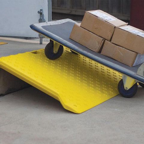 Barrier Group Portable Kerb Ramp for Trolley & Wheelchair Access, 1.2m - Barrier Group - Ramp Champ