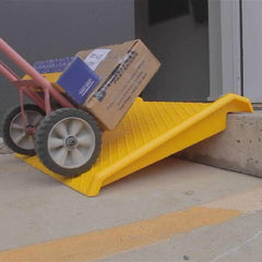 Barrier Group Lightweight Portable Kerb Trolley Ramp, 680mm